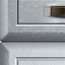 Euroline Brushed Steel